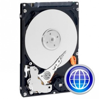 "Disque Dur 3.5""  WESTERN DIGITAL  Blue - 1 To"